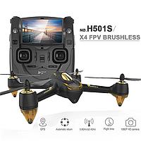 Квадрокоптер Hubsan X4 FPV Brushless 5,8 ГГц HD GPS Altitude 2,4 ГГц RTF (H501S Black)