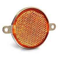 Світлоповертач круглий жовтий Україна Руслан-Комплект