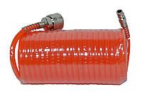 Шланг спиральный РЕ 5.5*8 мм, 15 м HTools, 80K174