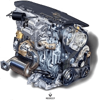 Опора двигателя 1.9dСi F9Q Trafic, Vivaro, Primastar