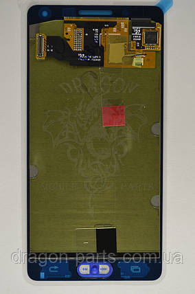 Дисплей Samsung A500 Galaxy A5 с сенсором Золотой Gold оригинал , GH97-16679F, фото 2