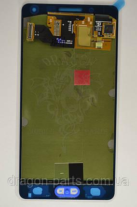 Дисплей Samsung A500 Galaxy A5 с сенсором Серебряный Silver оригинал , GH97-16679C, фото 2