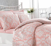 Комплект постельного белья Cotton Box - Сатин  -  Leyla Somon - Двуспальный Евро
