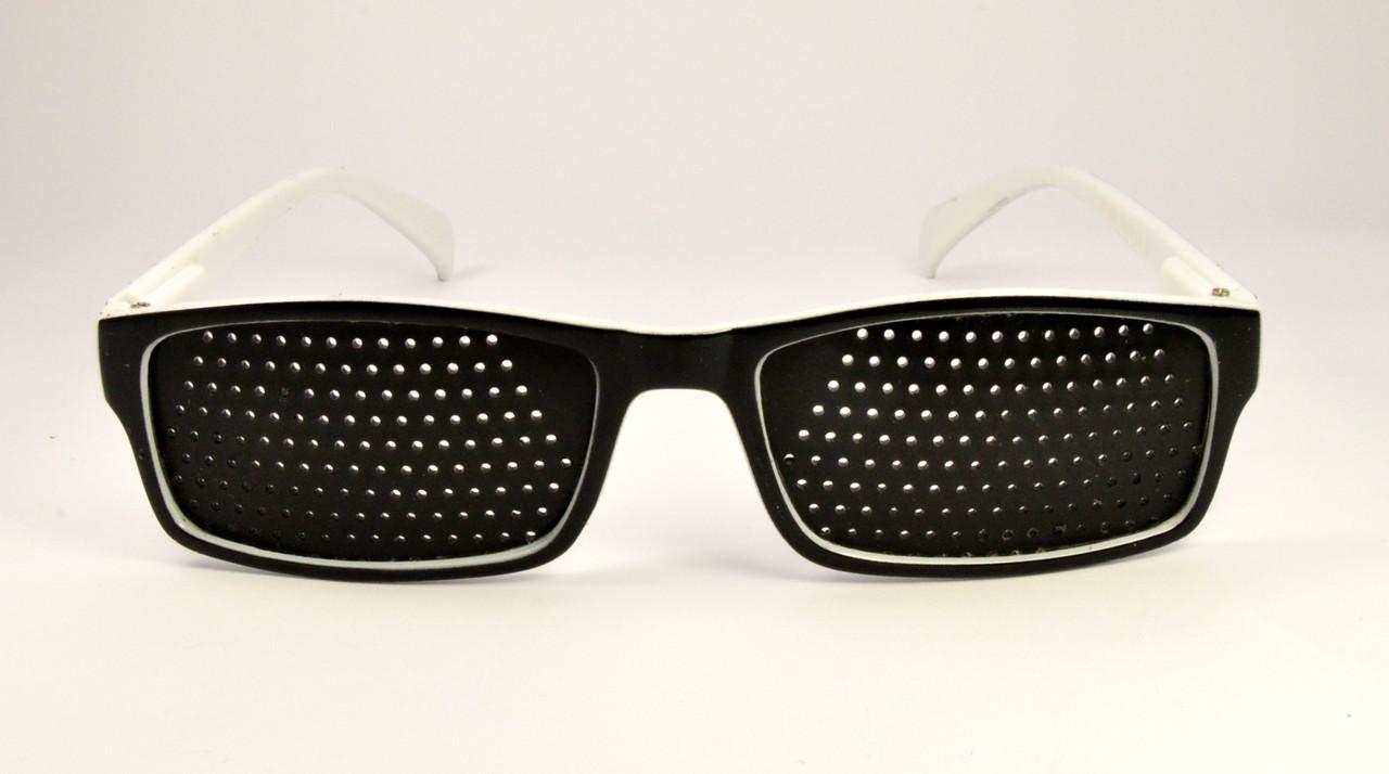 Очки черно-белый тренажеры (11051)