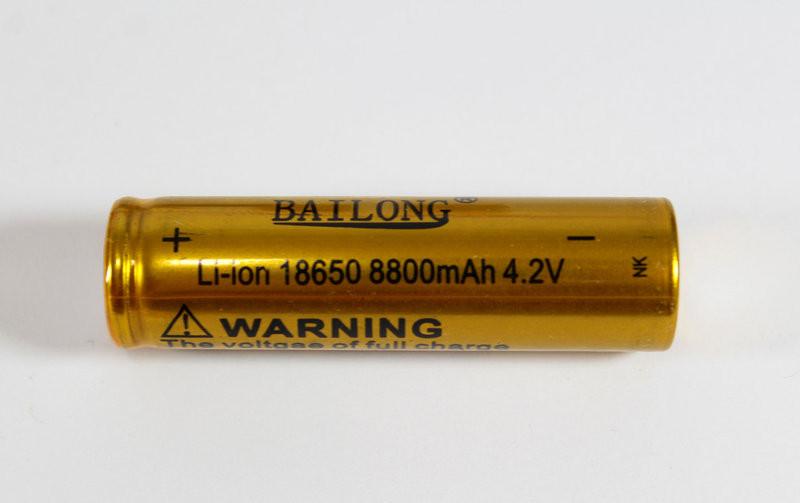 Батарейка BATTERY 18650 G (золотой)  - ОПТОВИК все для дома! в Шостке