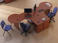 Угловой стол Атрибут 3 (3400*1450*750Н)
