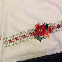 Ручная вышивка крестиком на одежде
