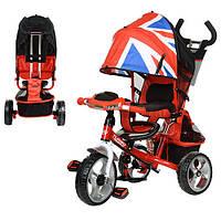Детский трехколесный колясочный велосипед M 3125-2H Turbo Trike