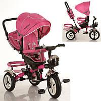 Детский трехколесный велосипед M 3200-6A Turbo Trike, розовый