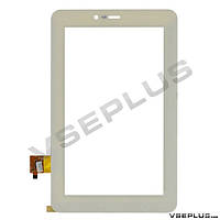 Тачскрин (сенсор) под китайский планшет GoClever Elipso 71, 070370-01A-V2, белый, 7.0 inch