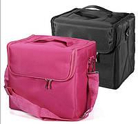 Чемодан раскладной, маникюрная сумка для мастера, плащевка, цвета в ассортименте