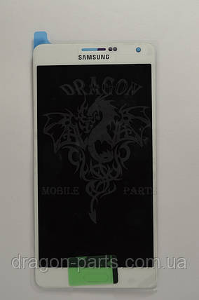 Дисплей Samsung A700 Galaxy A7 с сенсором Белый White оригинал , GH97-16922A, фото 2
