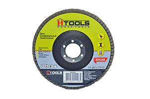 Диск шлиф, лепестковый 125*22 мм зерно 60 HTools, 62K206