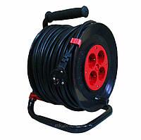 Удлинитель  электрокабеля У16-25м(2х2,5)  на катушке, фото 1