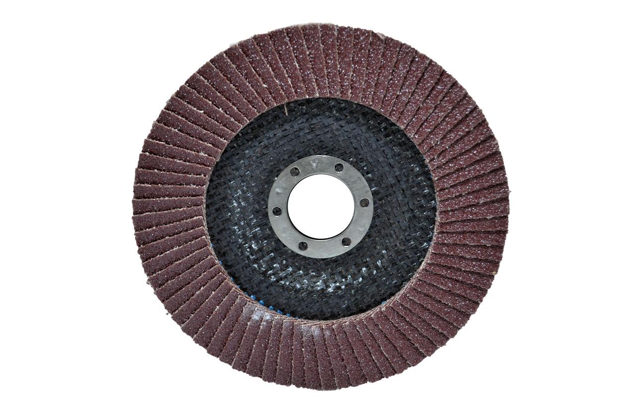 Диск шлиф, лепестковый 125*22 мм зерно 40 HTools, 62K204