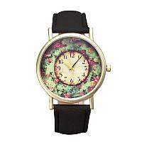 Нежные оригинальные женские часы Рastorale , черные