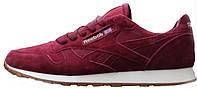 Мужские кроссовки Reebok Classic (Рибок Классик) бордовые