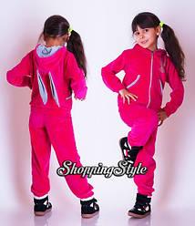 Детские велюровые костюмы с ушками