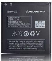 Аккумулятор на телефон Lenovo A288t, A298t, A520, A60+, A660, A698t, A690, A370, A530, S760 BL194