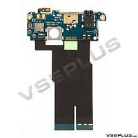 Шлейф HTC C110e Radar, с разъемом на наушники, с кнопкой включения