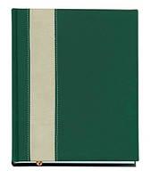 """Датированный ежедневник А5 Персия (коллекция """"СТАНДАРТ""""), зелёный, от 10 шт"""