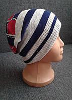 """Детская весенняя шапка для мальчика """"Fs"""""""