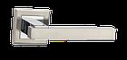 """Ручки дверные MVM  Z-1290 SN/CP """"Loft"""" матовый никель/хром , фото 2"""