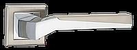 Ручки дверные MVM Z-1319 SN/CP матовый никель/хром NEO