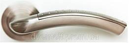 Ручки дверные МВМ матовый никель  MRL-113 SN