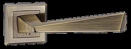 "Ручки дверні mvm стара бронза Z-1321 AB ""Edge"""