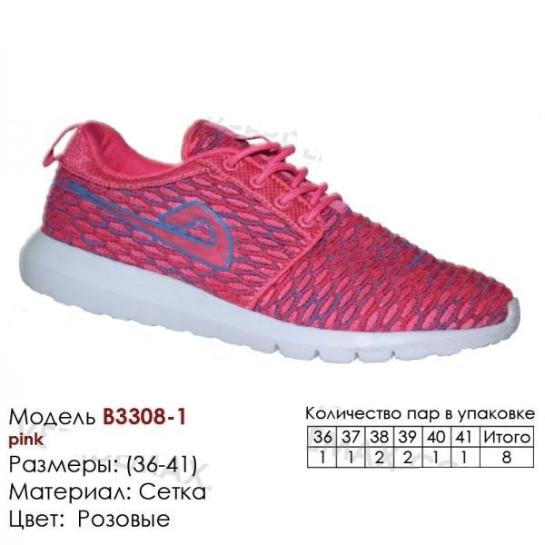 Женские кроссовки сетка 3308-1