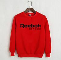 Мужской свитшот Reebok Classic красный.