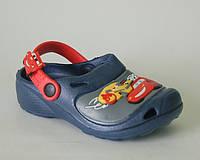 Шалунишка арт.LW007 т.синий маквин. кроксы Кроксы/ пляжная обувь для детей.