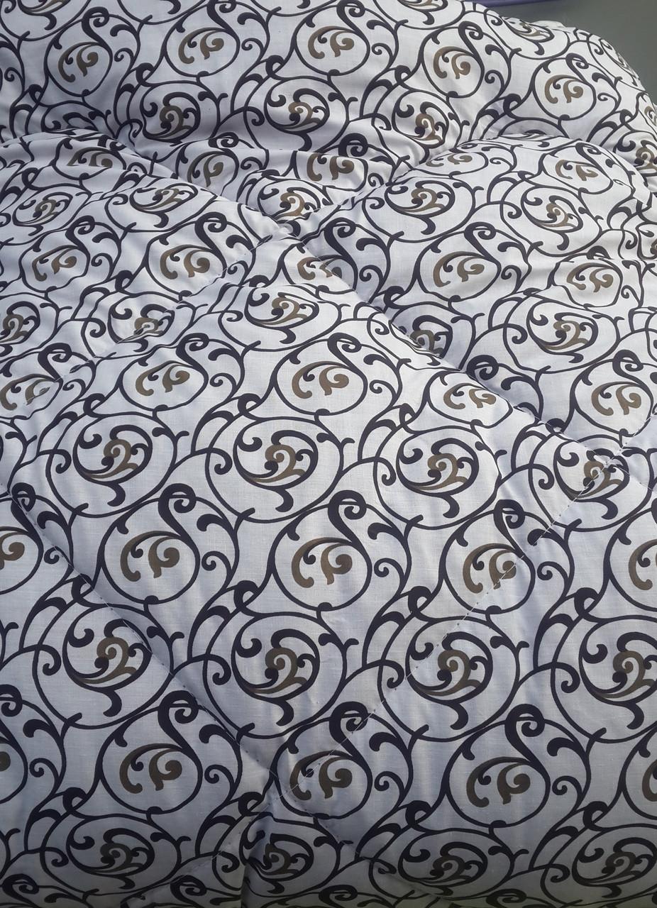 Модное полуторное одеяло La Bella бязь на овчине