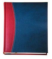 """Датированный ежедневник А5 Крессент (коллекция """"СТАНДАРТ""""), красно-синий, от 10 шт."""