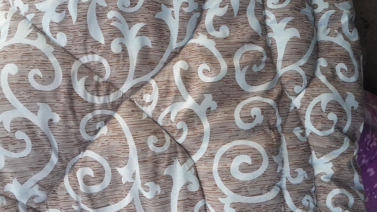 Одеяло полуторное La Bella бязь на овчине вензеля