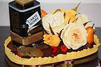Кофе в композиции с конфетами