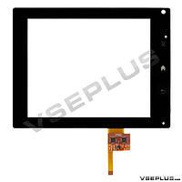 Тачскрин (сенсор) под китайский планшет NTP080CM112104, NAS_2048111001, черный, 8.0 inch, 12 пин