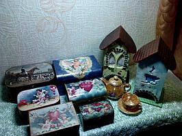 Чайные домики со шкатулками