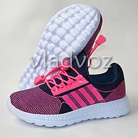 Кроссовки легкие для девочки розовая модель 31р.