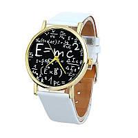 Оригинальные стильные женские часы  Formula, белые