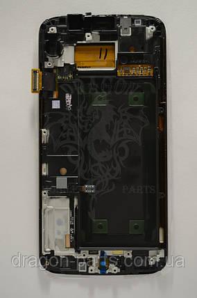 Дисплей Samsung G925 Galaxy S6 Edge с сенсором Золотой Gold оригинал , GH97-17162C, фото 2