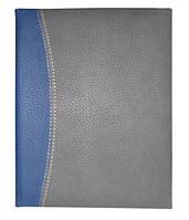 """Датированный ежедневник А5 Крессент (коллекция """"СТАНДАРТ""""), серо-синий, от 10 шт."""