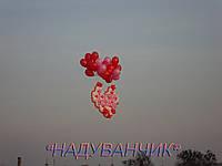 Серце для запуску на гелієвих кульках