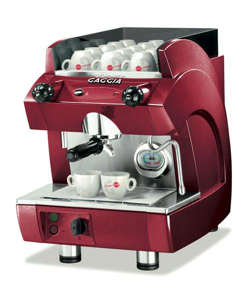 Кофемашина Gaggia GE Compact red 1 GR