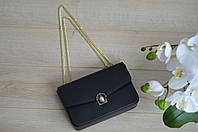 Черная сумка-клатч VirginiaConti