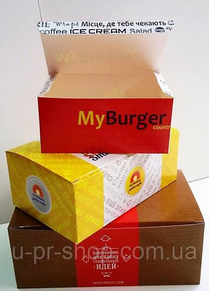 Коробки food box, chiken box, нагетсы от 1000 шт.