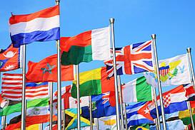 Изготовление флагов стран мира