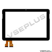 Тачскрин (сенсор) под китайский планшет Vido N101, TPC-50181 V2.0, TPC-50181 V3.0, черный, 10.1 inch, 74 пин