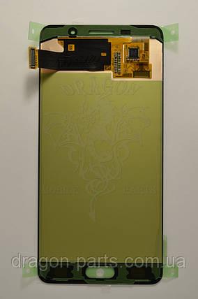 Дисплей Samsung A510 Galaxy A5 с сенсором Черный Black оригинал , GH97-18250B, фото 2
